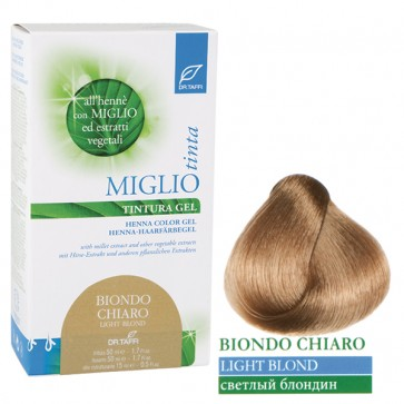 Light Blond Hair Dye Gel