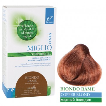 Copper Blond Hair Dye Gel
